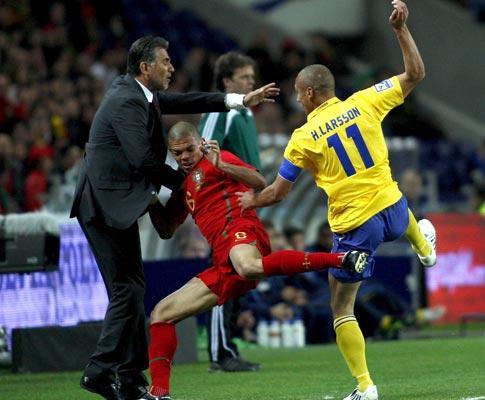 Portugal-Suécia, 0-0 (destaques)