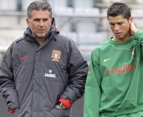Carlos Queiroz: «Ronaldo nem devia ter jogado o Euro2008»