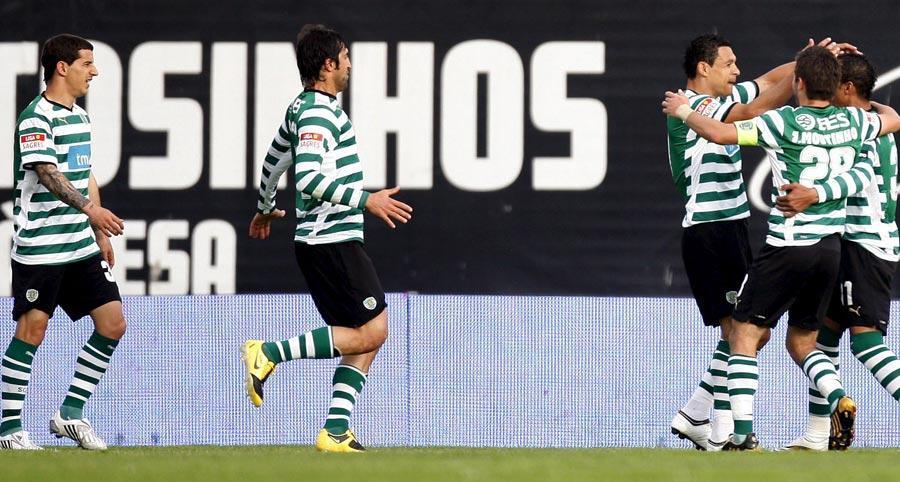 Leixões-Sporting, 0-1 (destaques)