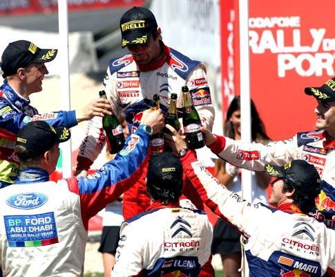 Mundial de Ralis: Loeb soma cinco vitórias em cinco provas