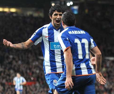F.C. Porto: casas de apostas ainda acreditam mais no ManUtd