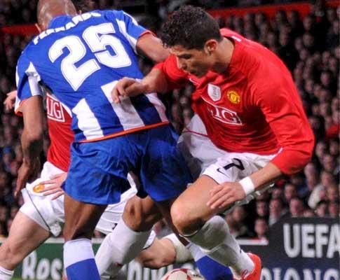 Manchester United no Porto: «Cristiano, já foste!»