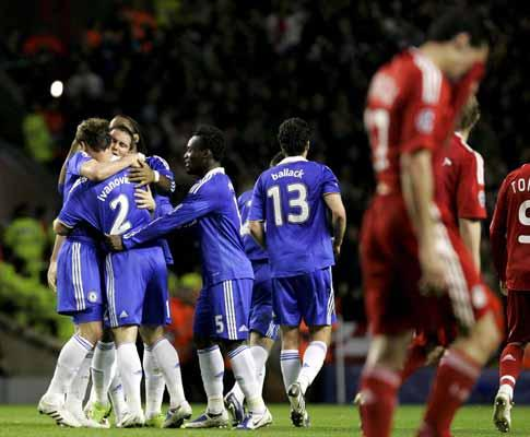 Chelsea-Liverpool: o que lhes disse Hiddink ao intervalo