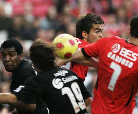 Benfica-Académica, 0-1 (crónica)