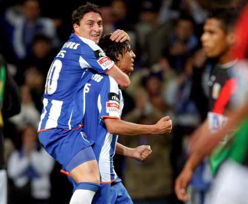 F.C. Porto-E. Amadora, 3-0 (crónica)