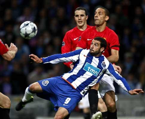F.C. Porto: mais remates, mas menos bola que o ManUtd