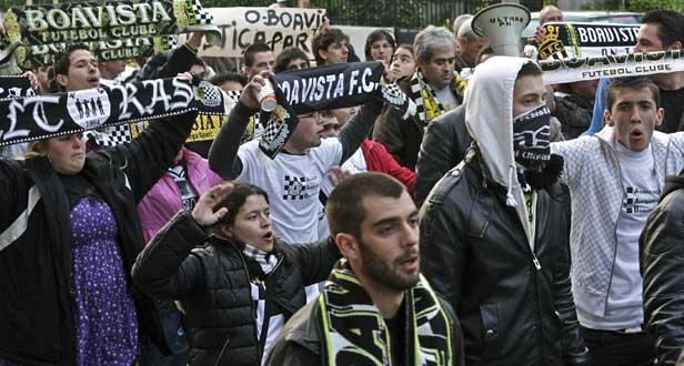 Boavista: Sanchez surpreende adeptos em marcha de solidariedade