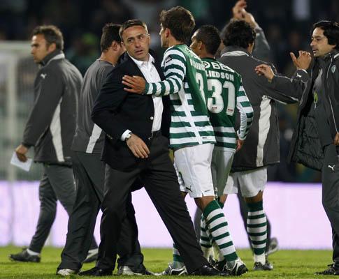 Sporting: relatório de Paixão não referia insultos
