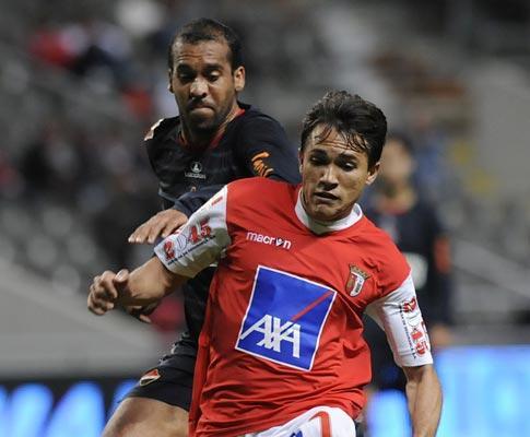 Sp. Braga-Trofense, 1-0 (destaques)