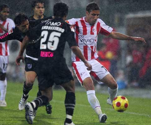 Leixões-V. Guimarães, 2-2 (crónica)