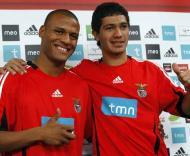 Patric e Shaffer, reforços do Benfica para a temporada 2009/2010