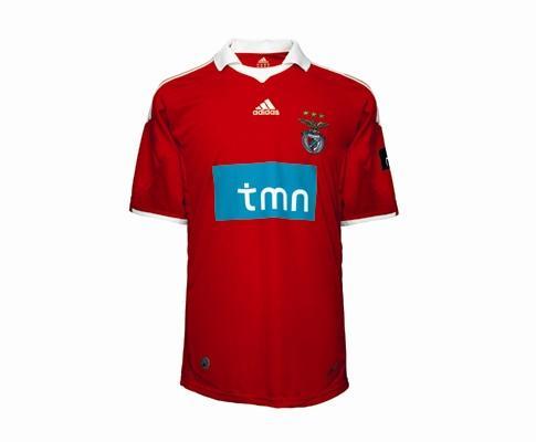 Nova camisola do Benfica