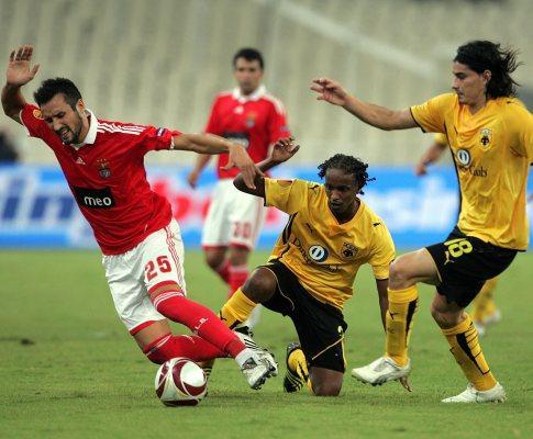 Benfica treina sem César Peixoto e Aimar