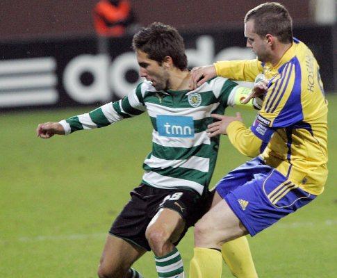 Liga Europa: Ventspils-Sporting, 1-2 (crónica)