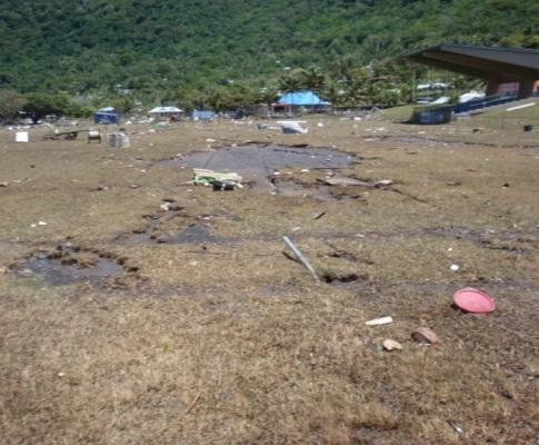 Samoa Americana: a força da Natureza leva jovens a fugir