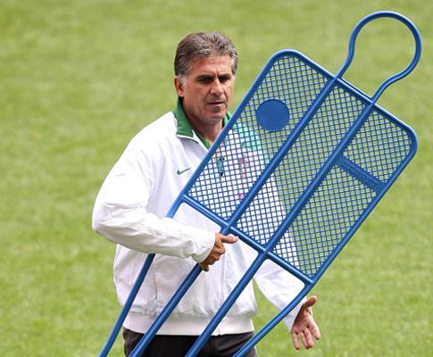 Queiroz: «Precisamos de jogadores como Hilário no Mundial»