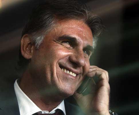 Carlos Queiroz adere ao desporto da moda