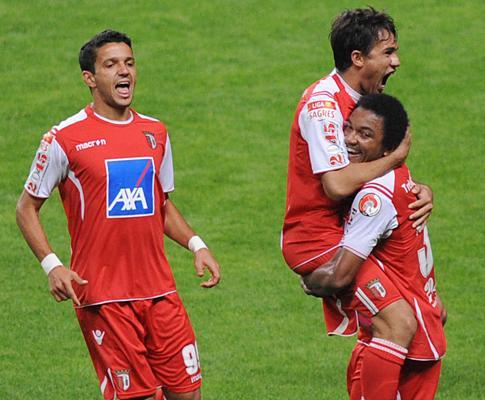 Sp. Braga-U. Leiria, 2-0 (crónica)