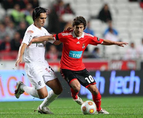 Benfica: Ramires e Aimar condicionados