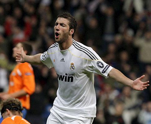 Higuaín: «A Liga dos Campeões é uma obsessão para o Real Madrid»