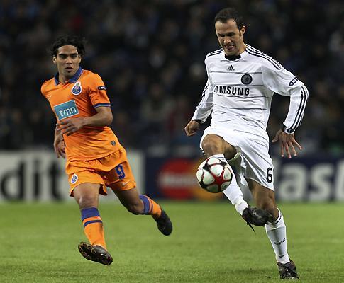 Chelsea-Inter: Carvalho está apto, ao contrário de Hilário