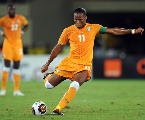 Costa do Marfim perdeu com Coreia do Sul em Londres (0-2)