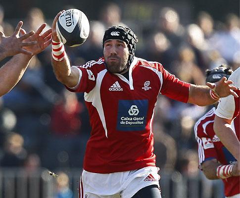 Vasco Uva, o único português e amador mundial nos Rugby Centurions