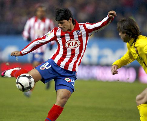 At. Madrid-Sporting, 0-0 (destaques)