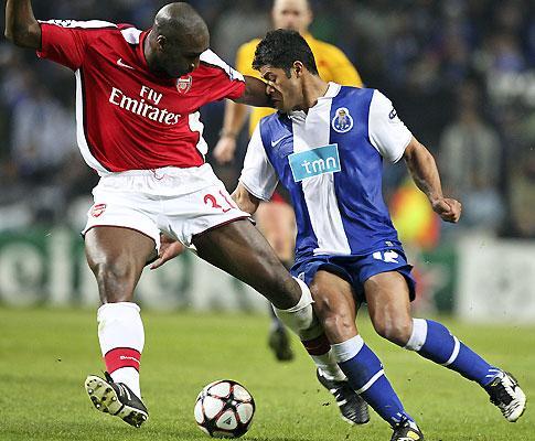 F.C. Porto: poker de Hulk em jogo-treino com Arsenal à vista