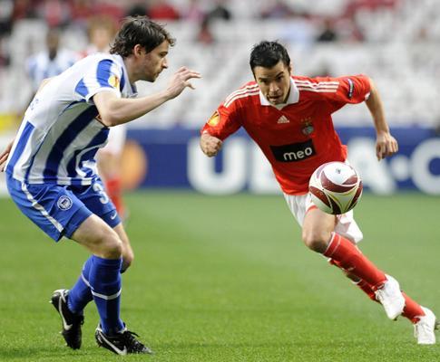 Benfica: dois milhões de euros em prémios na Liga Europa