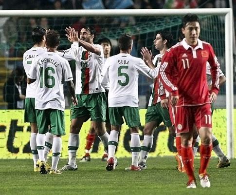 Portugal-China, 2-0 (crónica)