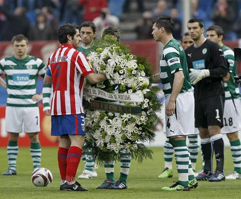 Atlético Madrid sem descanso até ao jogo de Alvalade