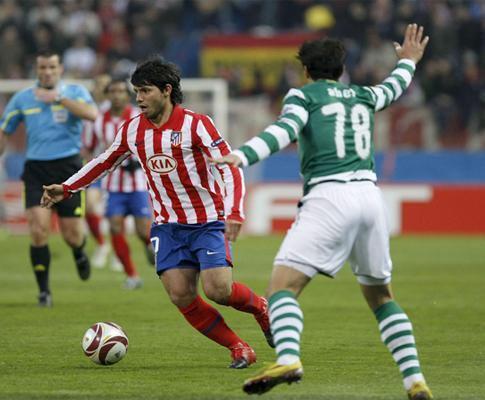 Sporting em Madrid: Tonel expulso sem uma falta cometida