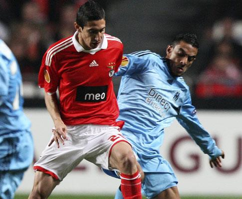 Liga Europa: Benfica já está em Marselha