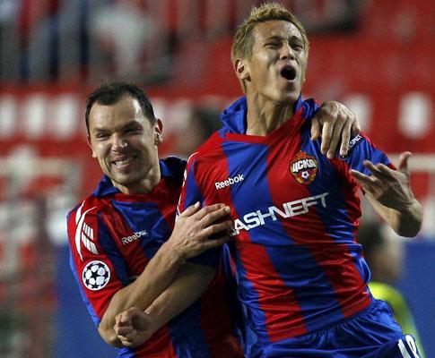 «Champions»: CSKA apura-se em Sevilha com «frango» de Palop