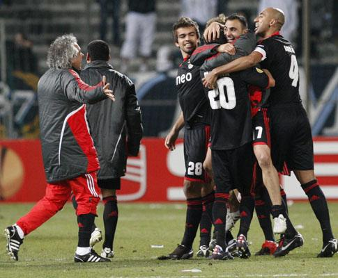 O poder do Benfica e o pesadelo do Marselha na imprensa