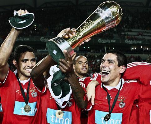 Taça da Liga: há 23 anos que Benfica não revalidava um título