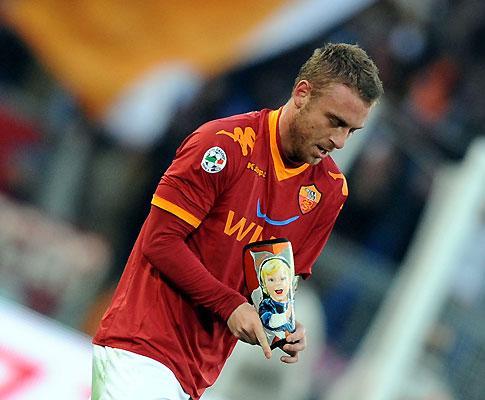 De Rossi chama cigano a jogador da Juventus
