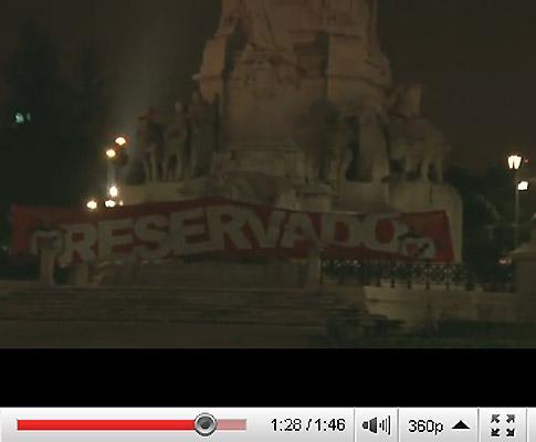 Adeptos do Benfica também «reservaram» Rotunda da Boavista