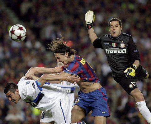 Barça vence, mas Inter e Mourinho estão na final da Champions!