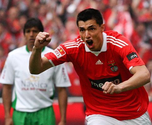 Benfica: Cardozo foi o melhor marcador da Liga Europa