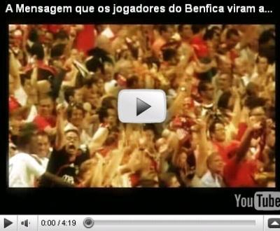 Benfica: veja o vídeo de motivação que Jesus mostrava no balneário