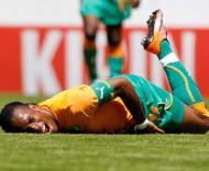 Drogba lesiona-se antes do Mundial