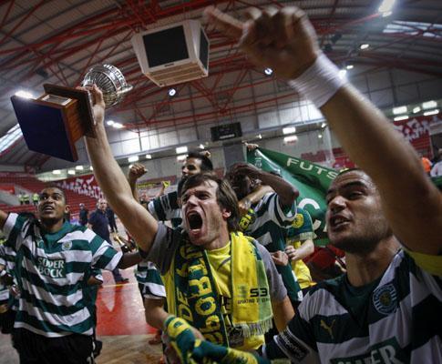 Futsal: Sporting ganha vantagem na final