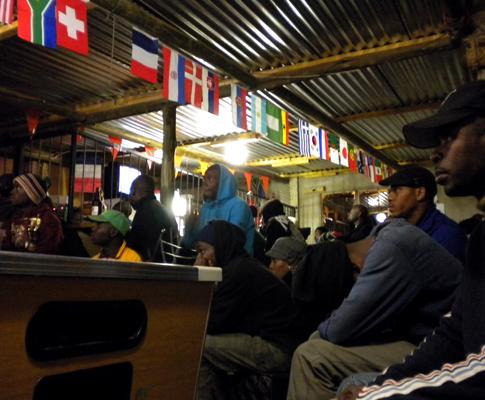 Portugal-Espanha visto de uma favela: «Obrigado e até sempre»