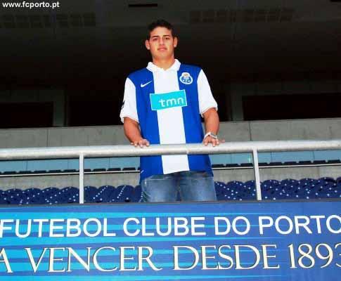 OFICIAL: James Rodriguez custa 5,1 milhões ao F.C. Porto