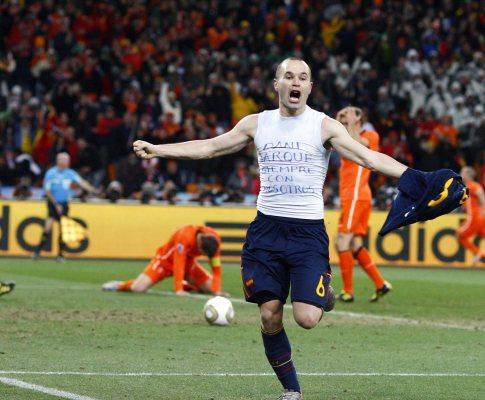 Holanda-Espanha, 0-0 (0-1, a.p.) (crónica)