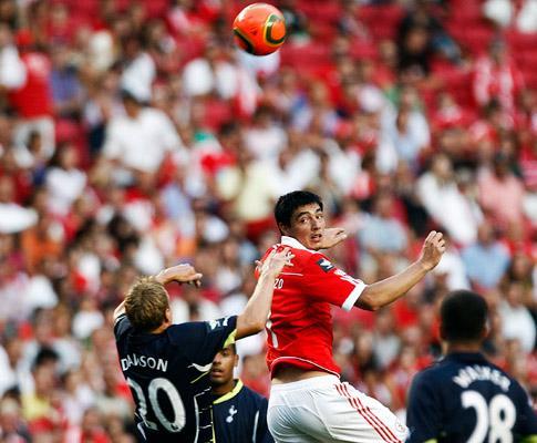 Benfica-Tottenham, 0-1 (crónica)