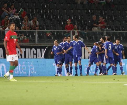 Portugal-Chipre, 4-4 (crónica)