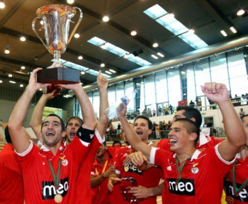 Hóquei: Benfica conquista Taça CERS
